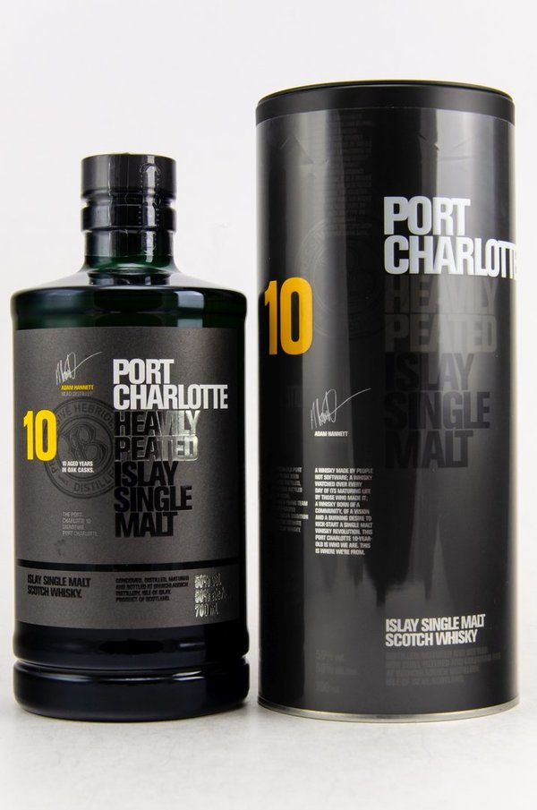 Port Charlotte 10 y.o. Heavily Peated