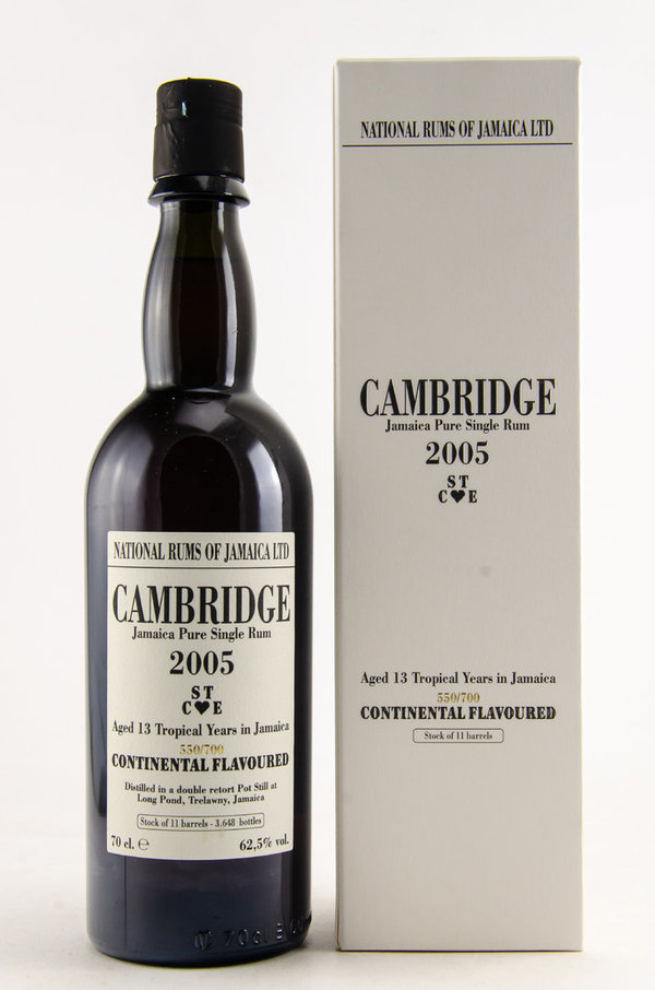 Cambridge 13 y.o. - 2005 STCE - Long Pond Rum