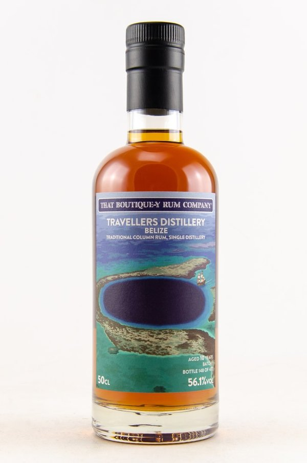 Travellers, Belize - Traditional Column Rum 10 y.o. - Batch 1 (That Boutique-y Rum Company)