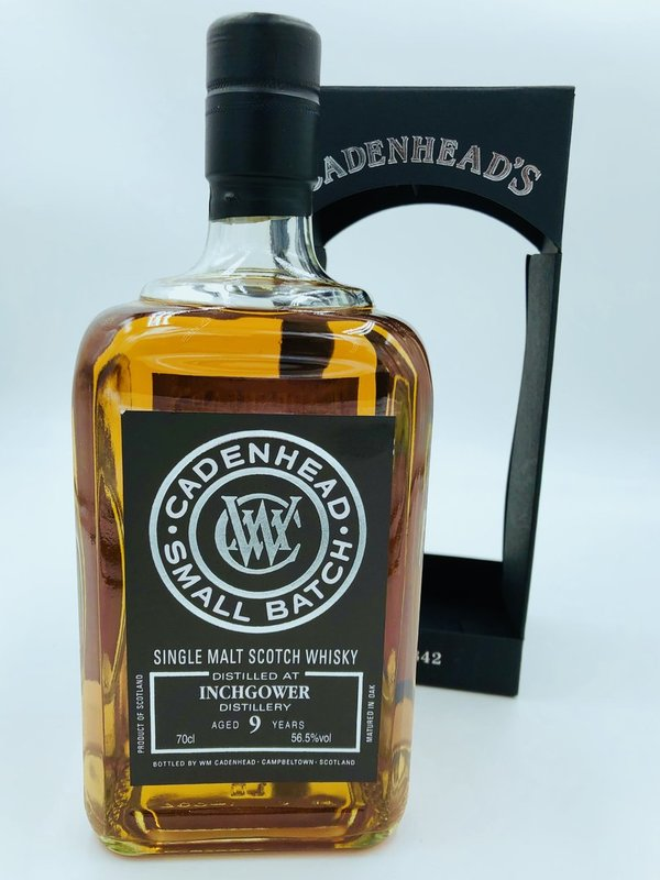 Inchgower 2009/2018 Cadenhead (CA) - Sherry Hogshead Single Cask - 56,5%