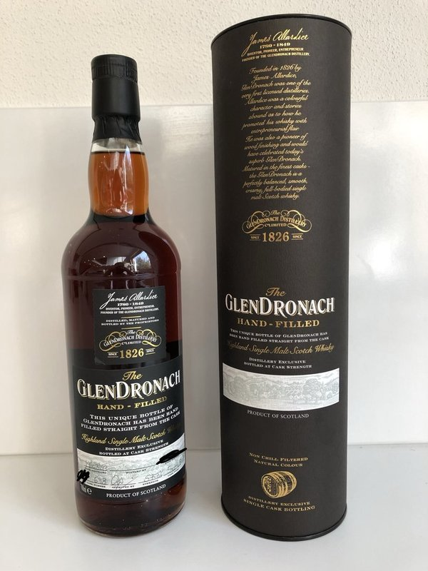 Glendronach 1993/2018 - Hand-filled at the distillery - Sherry Butt