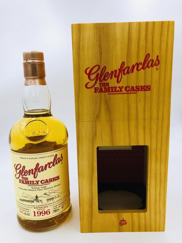 Glenfarclas 1996/2018 Cask 24 - 4th Fill Butt - The Family Casks (Release W18)