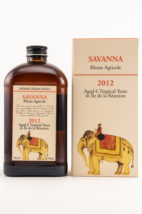 Savanna Rhum Agricole 6 y.o. 2012/2019 Velier Indian Ocean Stills