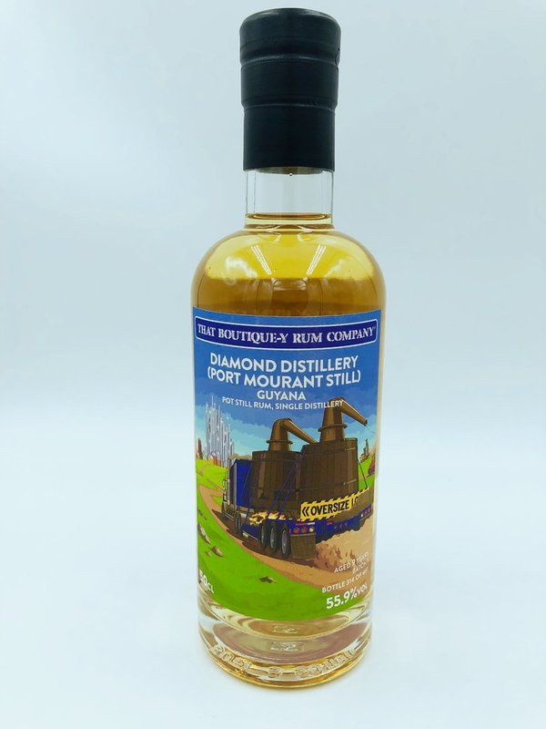 Diamond (Port Mourant Still) Guyana 9 Year Old - That Boutique-y Rum Company - 91 Punkte whiskyfun