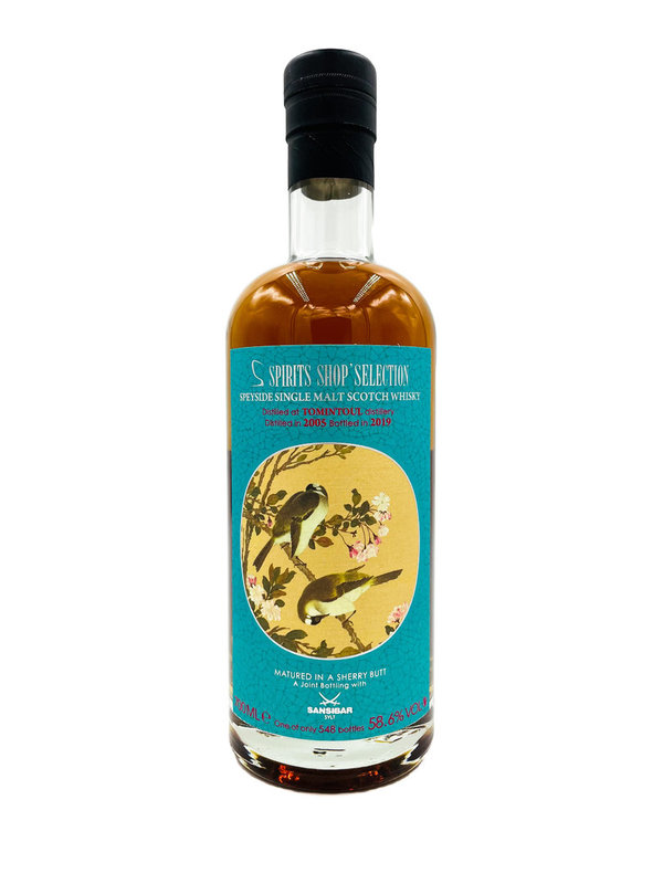 Tomintoul 2005/2019 - Sherry Butt - Chinese Birds - S-Spirits Shop Taiwan