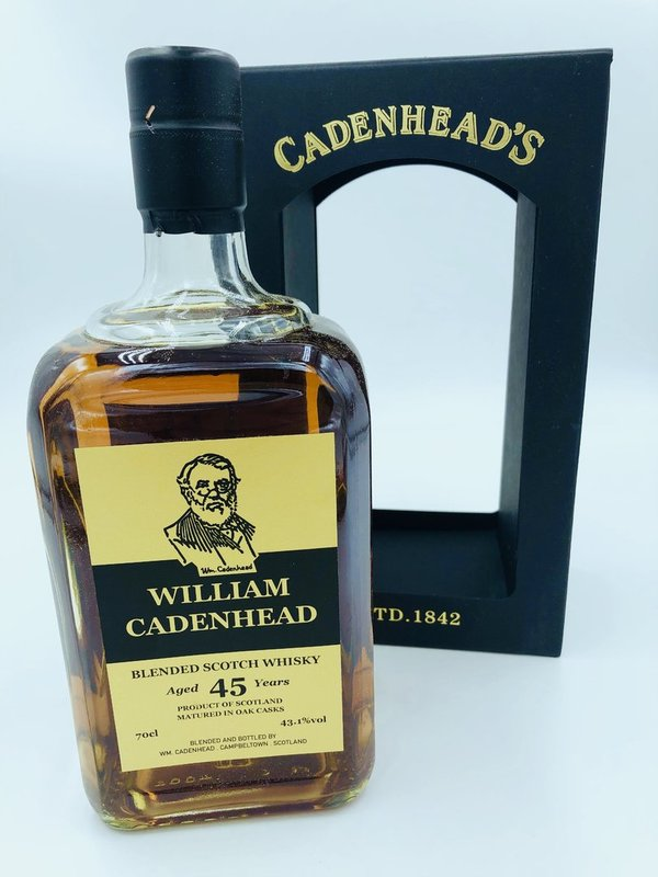 William Cadenhead Blend 1973/2019 45 Jahre - Sherry Hogshead - Cadenhead (CA)