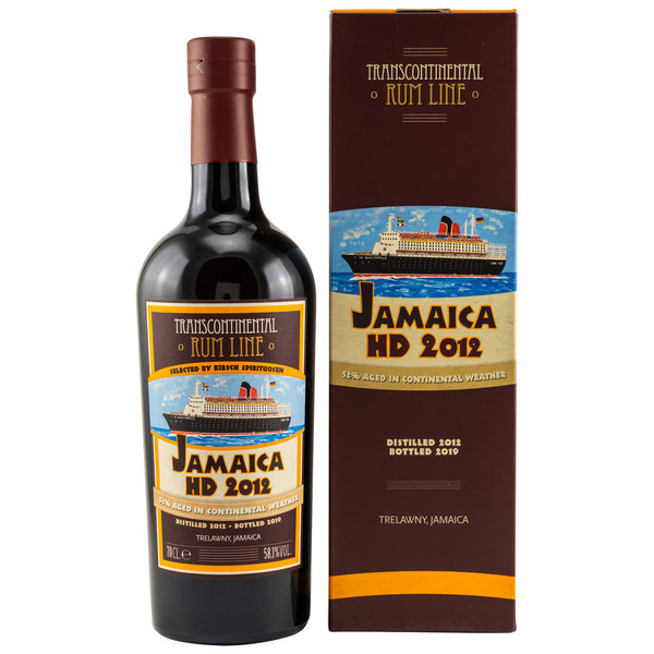 Jamaica HD (Hampden) Ex-Cognac Single Cask 2012/2019 Transcontinentel Rum Line