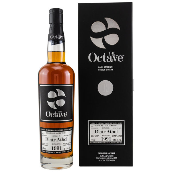 Blair Athol 1991/2019 - Sherry Octave Cask Finish - Cask Strength Duncan Taylor