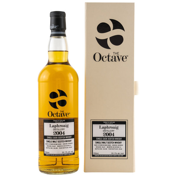Laphroaig 2004/2018 - Sherry Octave Finish - The Octave Duncan Taylor