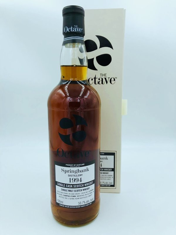 Springbank 1994/2017 - 22 Jahre - Dark Sherry Octave Finish - The Octave Duncan Taylor