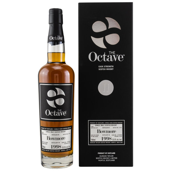 Bowmore 1998/2019 - Sherry Octave Cask Finish - Cask Strength Duncan Taylor