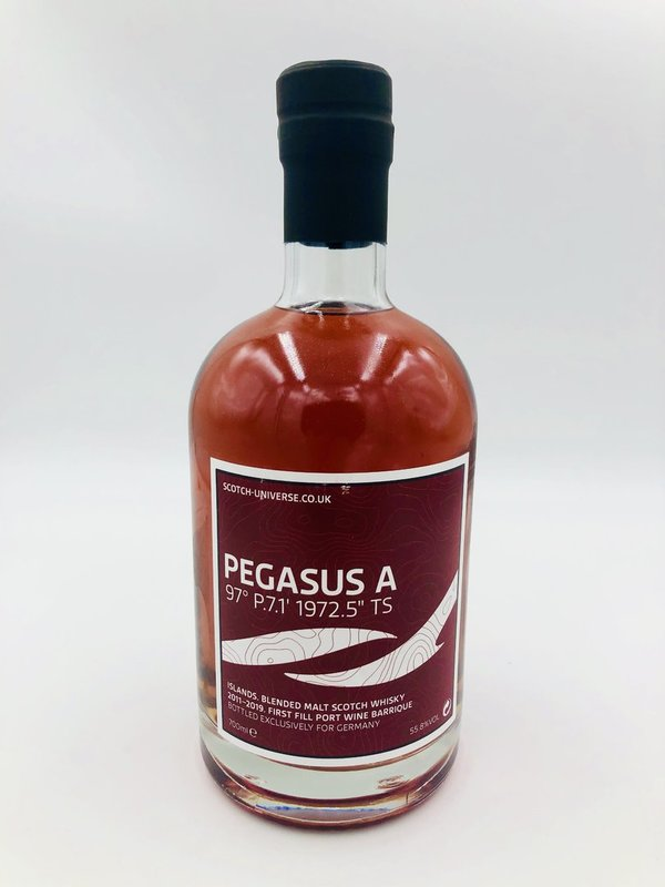 PEGASUS A - 2011/2019 - 1st Fill Port Wine Barrique - Scotch Universe