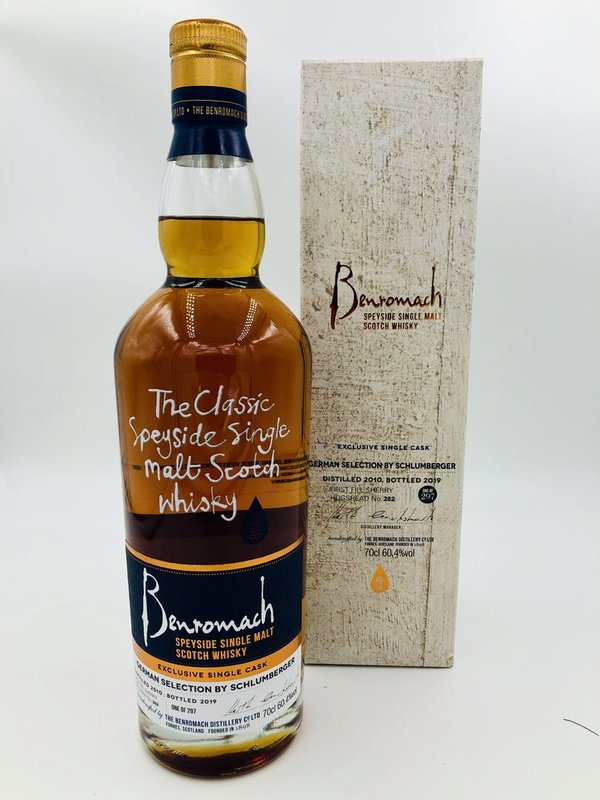 Benromach 2010/2019 - Fresh Sherry Hogshead - German Selection by Schlumberger