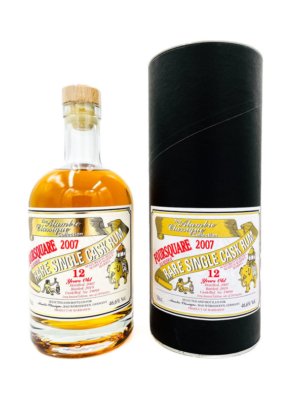 Foursquare 2007/2019 12 Jahre Old Selection Barbados Rum - Alambic Classique (AC)