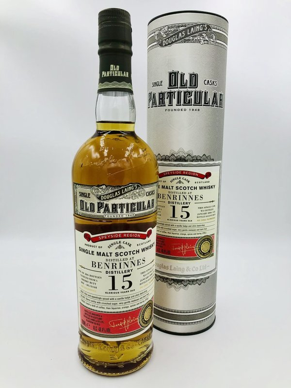 Benrinnes 15 Jahre 2004/2019 - Sherry Butt - Old Particular - Douglas Laing (DL)