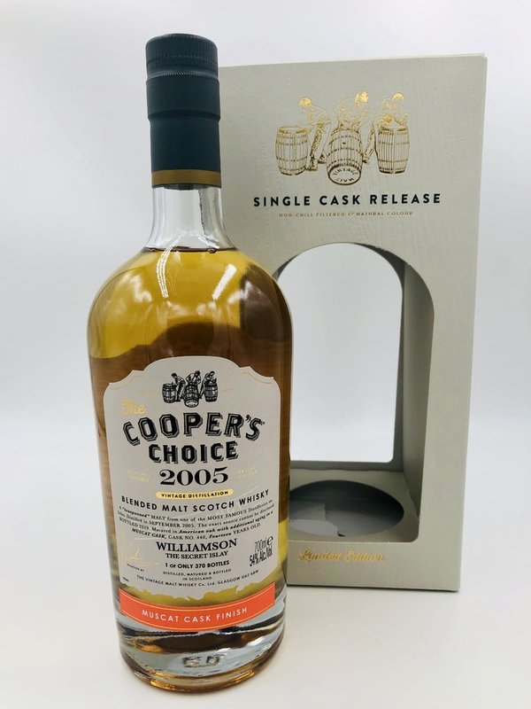 Williamson 2005/2019 - Muscat Finish - Cooper's Choice (CC)