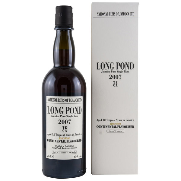 Long Pond 2007/2019 TECA -  National Rums of Jamaica