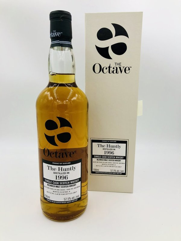 The Huntly Balvenie 1996/2017 - 20 Jahre - Sherry Octave Finish - The Octave Duncan Taylor