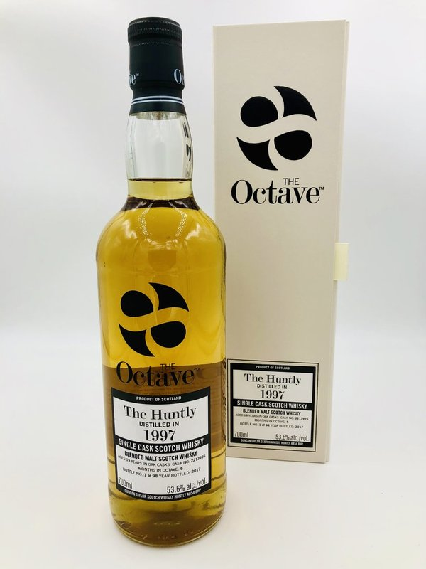 The Huntly Balvenie 1997/2017 - 19 Jahre - Sherry Octave Finish - The Octave Duncan Taylor