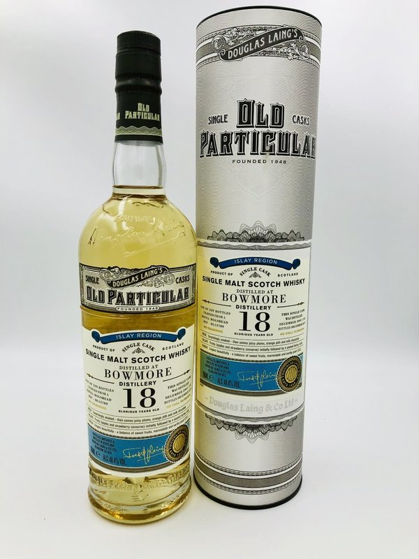 Bowmore 18 Jahre 2001/2019 - Refill Hogshead - Old Particular - Douglas Laing (DL)