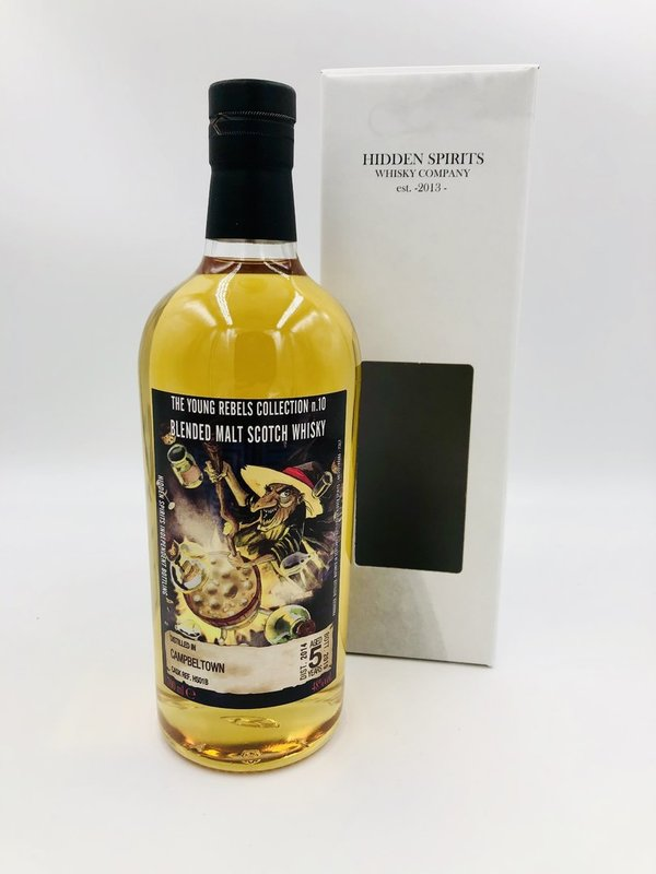 Campbeltown 2014/2019 - HS01B - Hidden Spirits (HiSp) - The Young Rebels Collection No. 10