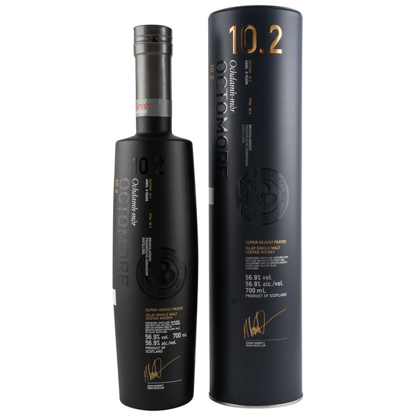 Octomore 10.2  - 8 Jahre - 1st Fill American Whisky / 3rd fill Sauternes
