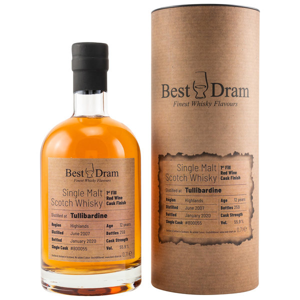 Tullibardine 2007/2020 - Best Dram (BD) - Red Wine Finish