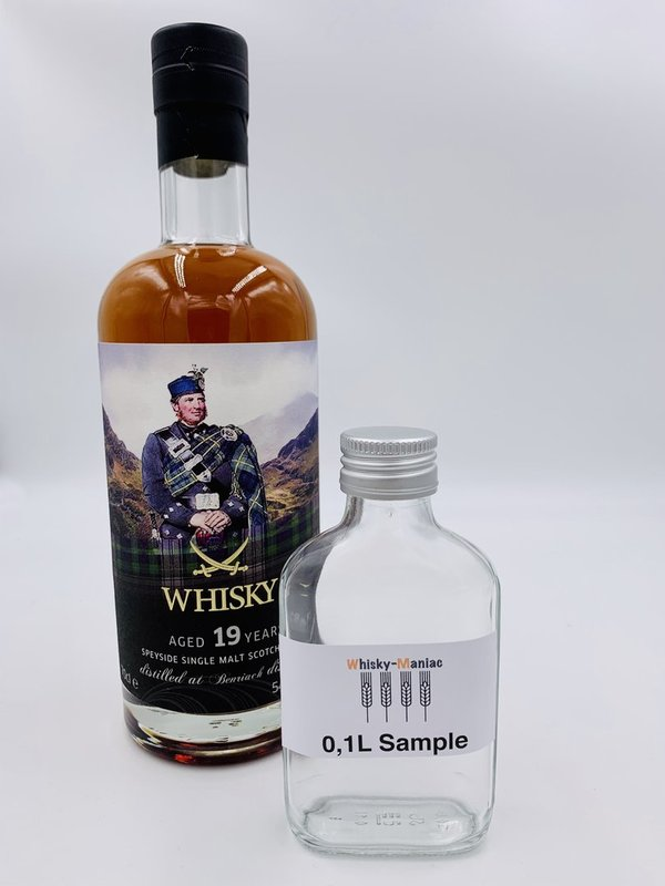 SAMPLE BenRiach 1999/2019 - Sansibar The Clans Label - Single Cask 19 Jahre alt