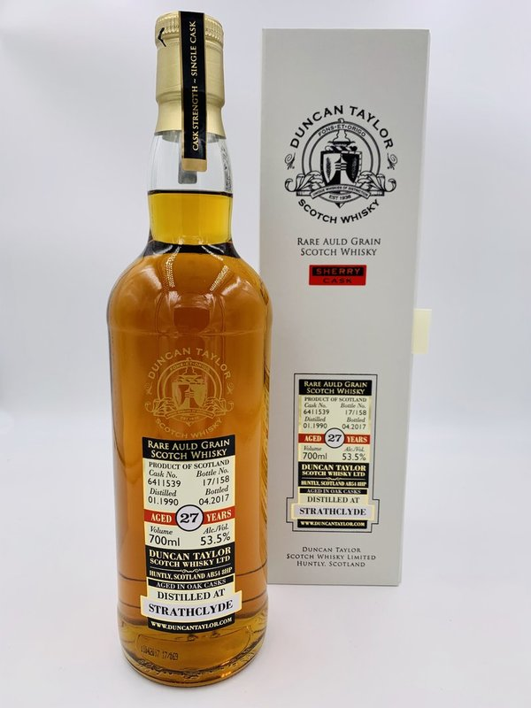 Strathclyde 1990/2017 - Sherry Cask - Rare Auld - Duncan Taylor