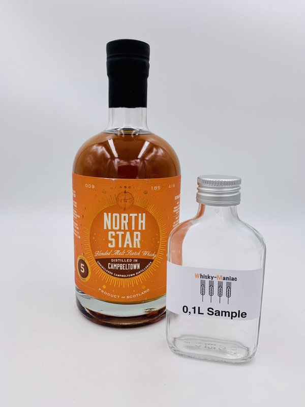 SAMPLE Campbeltown 2014/2019 5 Jahre - PX Finish - North Star Spirits (NSS) - Cask Series 009
