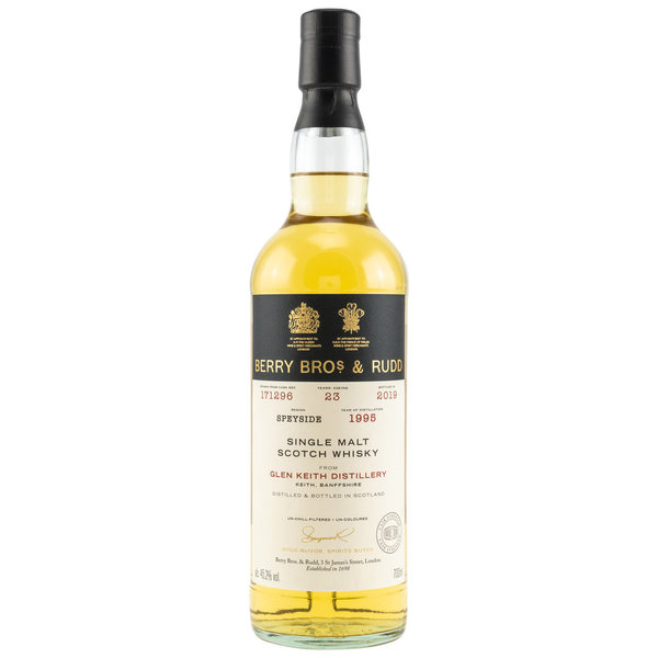 Glen Keith 1995/2019 Cask No. 171296 (Berry Bros and Rudd)