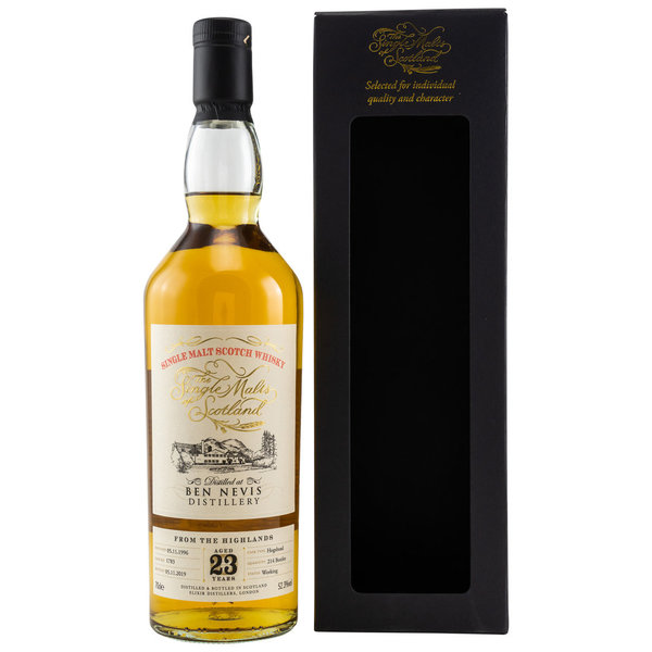 Ben Nevis 1996/2019 23 y.o. Cask No. 1783 Single Malts of Scotland (SMoS)