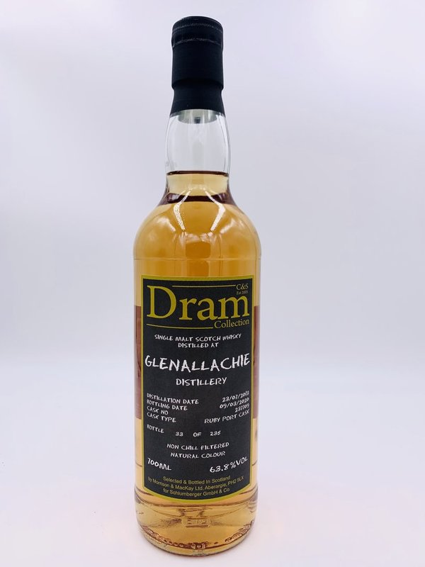 Glenallachie 2013/2020 - Ruby Port Cask Finish 237709 - C&S Dram Collection