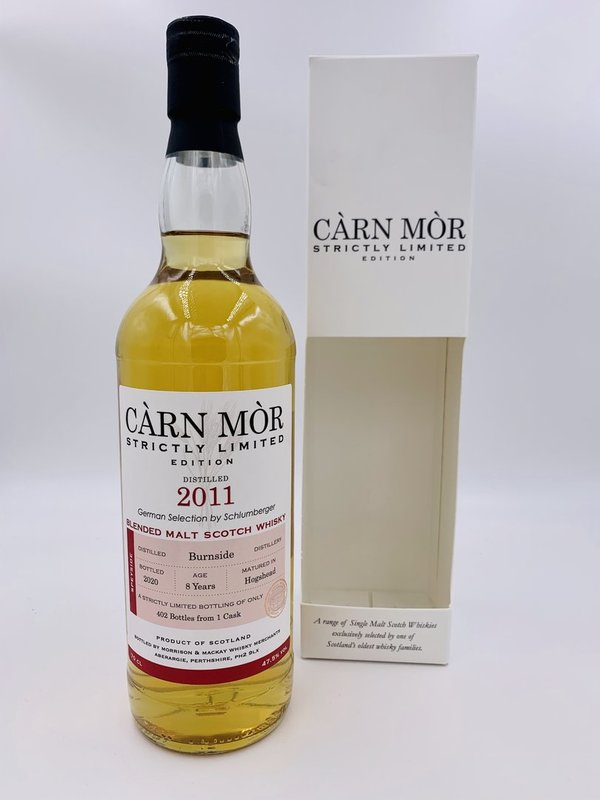 Burnside Blended Malt 2011/2020 - Bourbon Hogshead - Càrn Mòr (CM) - Strictly Limited Edition