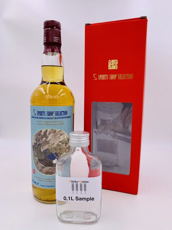 SAMPLE Ben Nevis 1996/2018 - Sherry Butt 313 - S-Spirits Shop Selection (Taiwan)