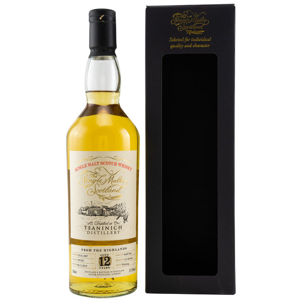 Teaninich 2007/2019 12 y.o. Cask No. 301262 Single Malts of Scotland (SMoS)