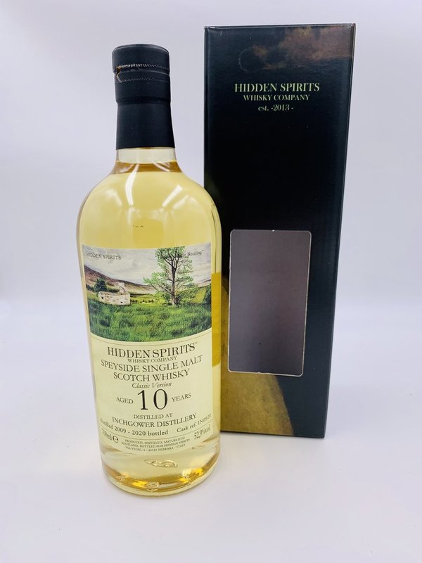Inchgower 2009/2020 - Bourbon Cask - IN0920 - Hidden Spirits (HiSp)