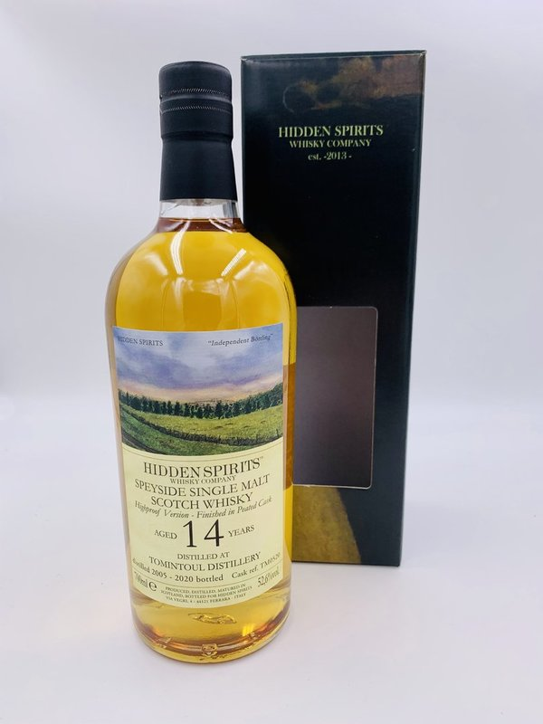 Tomintoul 2005/2020 - Sherry Cask & Ben Nevis peated Finish - TM0520 - Hidden Spirits (HiSp)