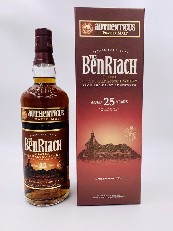 Benriach 25 Authenticus - 2015 bottled