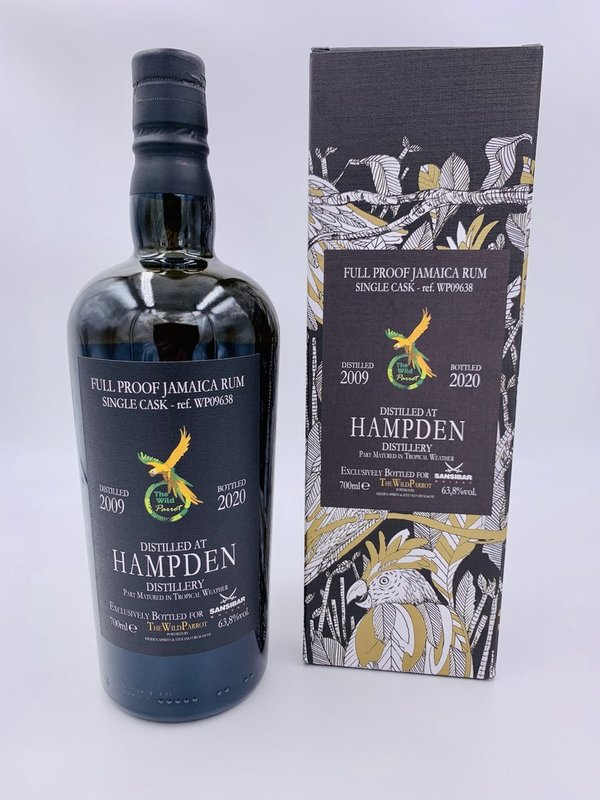 Hampden 11 Jahre 2009/2020 The Wild Parrot - Single Cask - Germany exclusive