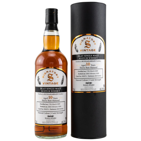 Bunnahabhain 2009/2020 Sherry Butt 900076 - Cask Strength - Kirsch