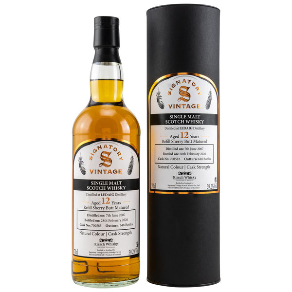 Ledaig 2007/2020 Refill Sherry Butt 700583 - Cask Strength - Kirsch