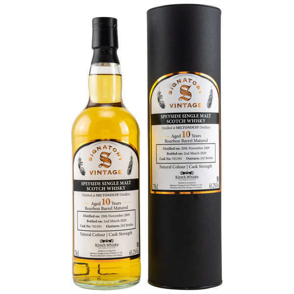 Miltonduff 2009/2020 Bourbon Barrel 701591 - Cask Strength - Kirsch