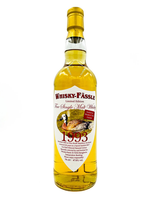 Glen Keith 1993/2017 Whisky-Fässle (W-F) - Barrel -