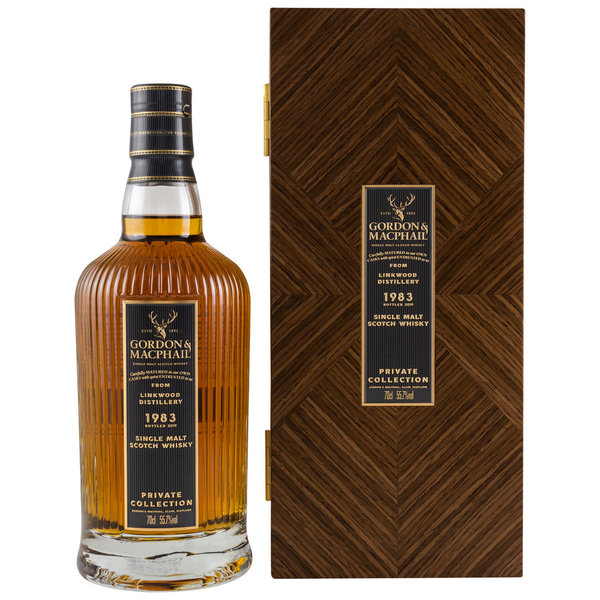 Linkwood 1983/2019 - Refill American Hogshead 6130 - Private Collection - Gordon & MacPhail (G&M)
