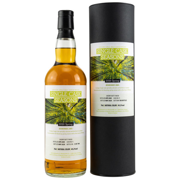 Benrinnes 2005/2020 Single Cask Seasons - Spring 2020 - Sherry Butt Finish