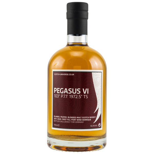 PEGASUS VI - 2011/2020 - 1st Fill Port Wine Barrique - Scotch Universe