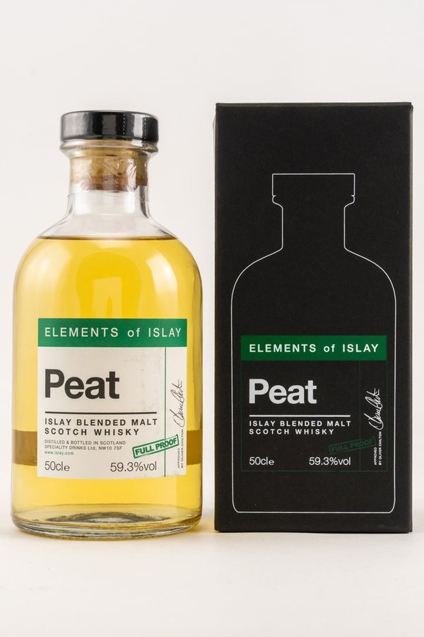 Elements of Islay - Peat Full Proof 59,3% - mit GP