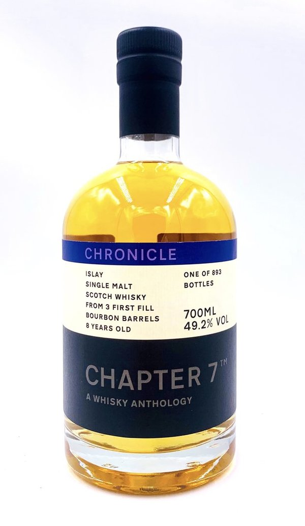 Islay Single Malt Scotch Whisky 2011/2020 - 8 Jahre - 1st Fill Ex-Bourbon Barrels - Chapter 7 (Ch7)
