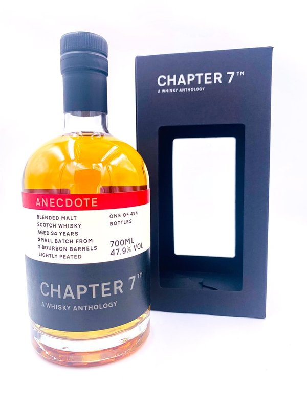 Blended Scotch Whisky 1995/2020 - 24 Jahre - 2x Bourbon Barrel - Chapter 7 (Ch7)